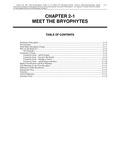 Volume 1, Chapter 2-1: Meet the Bryophytes
