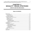 Volume 1, Chapter 3-1: Sexuality: Sexual Strategies