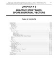 Volume 1, Chapter 4-9: Adaptive Strategies: Spore Dispersal Vectors