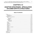 Volume 1, Chapter 4-12: Adaptive Strategies: Speculation on Gametophyte Structures