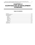 Volume 1, Chapter 5-1: Ecophysiology of Development: Hormones