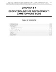 Volume 1, Chapter 5-4: Ecophysiology of Development: Gametophore Buds