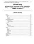 Volume 1, Chapter 5-5: Ecophysiology of Development: Gametophores