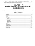 Volume 1, Chapter 5-7: Ecophysiology of Development: Brood Bodies