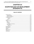 Volume 1, Chapter 5-9: Ecophysiology of Development: Sporophyte