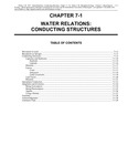Volume 1, Chapter 7-1: Water Relations: Conducting Structures