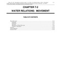 Volume 1, Chapter 7-2: Water Relations: Movement