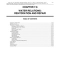 Volume 1, Chapter 7-6: Water Relations: Rehydration and Repair