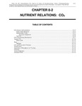 Volume 1, Chapter 8-2: Nutrient Relations: CO2