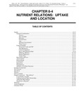 Volume 1, Chapter 8-4: Nutrient Relations: Uptake and Location