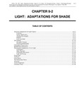 Volume 1, Chapter 9-2: Light: Adaptions for Shade