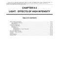 Volume 1, Chapter 9-3: Light: Effects of High Intensity