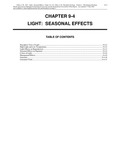 Volume 1, Chapter 9-4: Light: Seasonal Effects