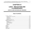 Volume 1, Chapter 9-5: Light: Reflection and Fluorescence