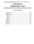 Volume 1, Chapter 10-3: Temperature: Heat by Janice M. Glime
