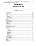 Volume 1, Chapter 12: Productivity