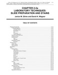 Volume 3, Chapter 2-2: Laboratory Techniques: Silde Preperation and Stains