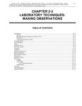 Volume 3, Chapter 2-3: Laboratory Techniques: Making Observations