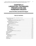Volume 3, Chapter 2-4: Laboratory Techniques: Preservation and Permanent Mounts