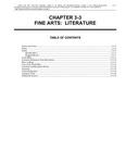 Volume 5, Chapter 3-3: Fine Arts: Literature