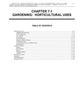 Volume 5, Chapter 7-1: Gardening: Horticultural Uses