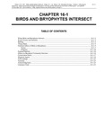 Volume 2, Chapter 16-1: Birds and Bryophytes Intersect