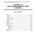 Volume 2, Chapter 16-2: Birds and Bryophytic Food Sources