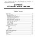 Volume 5, Chapter 7-5: Gardening: Public Gardens