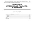 Volume 2, Chapter 18-2: Large Mammals: Ruminants - Non-Cervidae