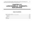 Volume 2, Chapter 18-2: Large Mammals: Ruminants - Non-Cervidae