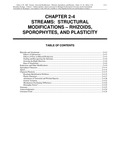 Volume 4, Chapter 2-4: Streams: Structural Modifications - Rhizoids, Sporophytes, and Plasticity