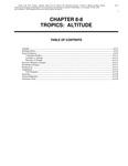 Volume 4, Chapter 8-8: Tropics: Altitude