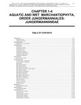 Volume 4, Chapter 1-4: Aquatic Wetlands: Marchantiophyta, Order Jungermanniales – Jungermanniineae