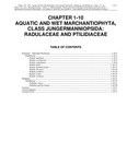 Volume 4, Chapter 1-10: Aquatic and Wet Marchantiophyta, Class Jungermanniopsida: Radulaceae and Ptilidiaceae