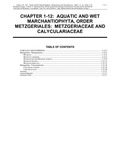 Volume 4, Chapter 1-12: Aquatic and Wet Marchantiophyta: Metzgeriaceae and Calyculariaceae