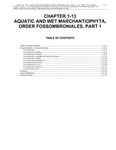 Volume 4, Chapter 1-13: Aquatic and Wet Marchantiophyta, Order Fossombroniales, Part 1