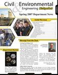 2007 Civil and Environmental Engineering Department News by Department of Civil and Environmental Engineering, Michigan Technological University