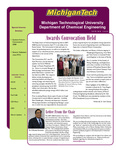 Spring 2008 ChE Newsletter by Department of Chemical Engineering, Michigan Technological University