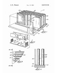 Method and apparatus for making aligned flake composite wood material including integral baffles by Gordan P. Krueger, Anders E. Lund, and Roy D. Adams