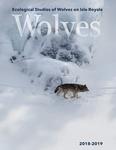 Ecological Studies of Wolves on Isle Royale, 2018-2019