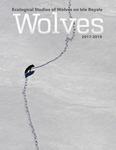 Ecological Studies of Wolves on Isle Royale, 2017-2018