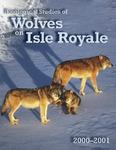 Ecological Studies of Wolves on Isle Royale, 2000-2001