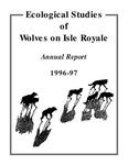 Ecological Studies of Wolves on Isle Royale, 1996-1997
