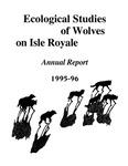 Ecological Studies of Wolves on Isle Royale, 1995-1996