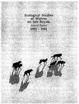 Ecological Studies of Wolves on Isle Royale, 1991-1992
