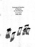 Ecological Studies of Wolves on Isle Royale, 1990-1991
