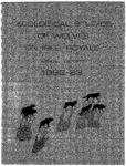 Ecological Studies of Wolves on Isle Royale, 1982-1983
