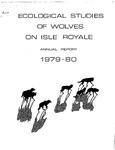 Ecological Studies of Wolves on Isle Royale, 1979-1980
