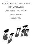 Ecological Studies of Wolves on Isle Royale, 1978-1979