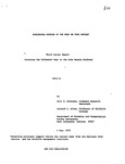 Ecological Studies of the Wolf on Isle Royale, 1972-1973